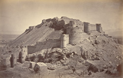 Upper Bala Hissar from west [Kabul].